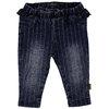 BESS Pants Denim striped Ruffle