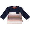 BESS Shirt L.sl Striped Pocket