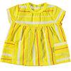 BESS Blouse Striped Yellow