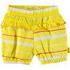 BESS Shorts Striped Yellow
