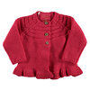 BESS Cardigan Knitted Ruffle