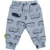 BESS Pants AOP Whales